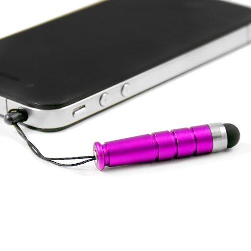 Electro-Weideworld 1x Mini Eingabestift Stylus Pen mit Anti Dust Staub Stecker Glitter Headset Staubschutz Stöpsel Plug Schutz 3.5mm für Lenovo,ZTE, Huawei, HTC One, Apple iPhone 3 3GS 4 4S 5, iPad 1 2 3 4 mini, Samsung Note 2 N7100, galaxy S3 i9300, i8190, i8262D, S2 i9100, i9268, S5830, i9000, S4 i9500, i8262D i9268, S4 Mini i9190, HTC G18 Sensation XE, GALAXY Ace2, LG Nexus 4HTC one X, TC X920e(Butterfly),Nokia Lumia 920 928 520 720, Sony L36h,Tab 10.1'' P7300 P6800 P6200 P3100