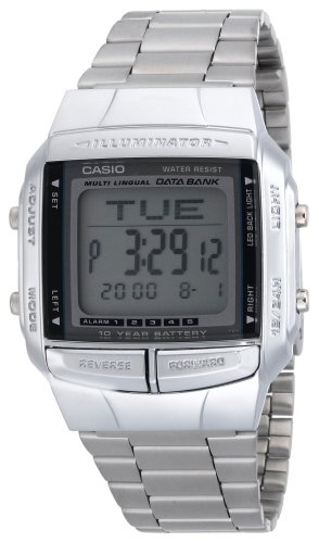 Casio Men's DB360-1AV Digital Databank Watch