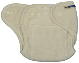 Mother-Ease One-Size Cloth Diaper (Unbleached)