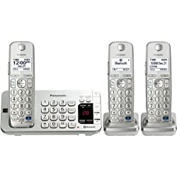 Panasonic Kx. Tge273s Dect 6.0 1.90 Ghz Cordless Phone . Silver . Cordless . 1 X Phone Line . 2 X Handset . Answering Machine . Caller Id . Yes . Backlight Product Type Phones Analog Digital Phones