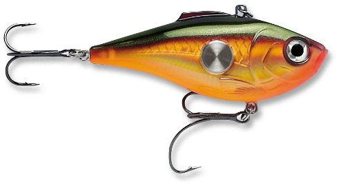 Rapala Clackin' Rap 06 Fishing lure, 2.5-Inch, Rusty Crawdad