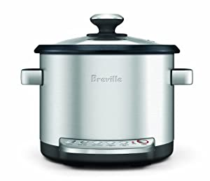 Breville BRC600XL The Risotto Plus Sauteing Slow Rice Cooker and Steamer by Breville