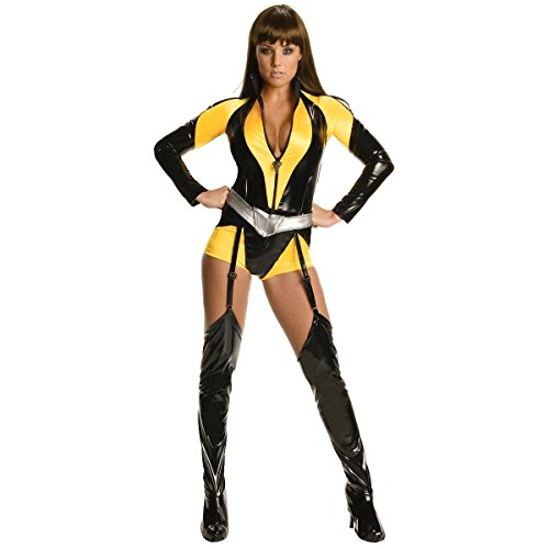 [GSG Silk Spectre Costume Adult The Watchmen Hero Girl Halloween Fancy Dress] (The Watchmen Silk Spectre Costume)
