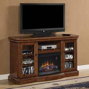 ClassicFlame Beauregard Electric Fireplace Entertainment Center in Antique Caramel - 25MM5045-C326 picture B009BYB3SO.jpg