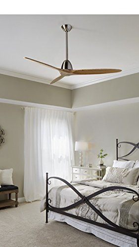 Fanimation Studio Collection Prop 60-in Brushed Nickel Downrod Mount Indoor Ceiling Fan with Remote Control (3-Blade) ENERGY STAR (3 Ceiling Fan Downrod compare prices)
