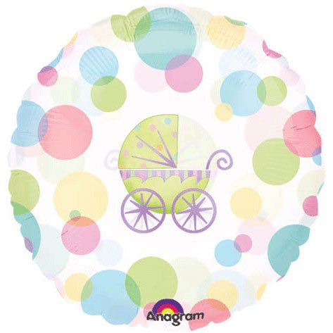 "18"" Baby Carriage Magicolor - 1"