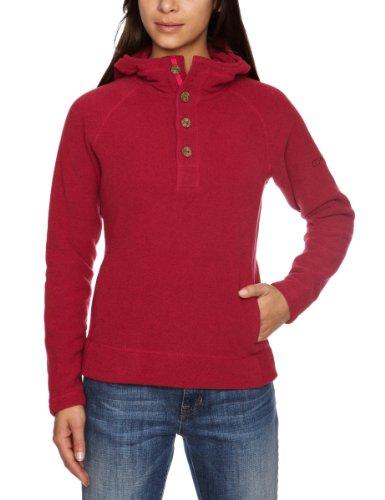 Berghaus Women's Lhasa Fleece (Buttons) - Spanish Pink Marl, Size 18