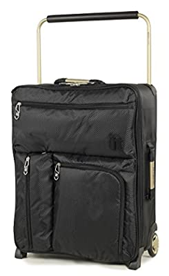 IT Luggage World's Lightest Max Cabin Ryanair Compliant 55x40x20cm Carry-on Luggage