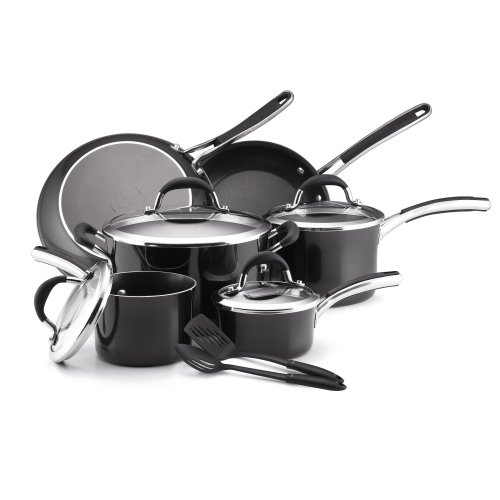 @@ Best Buy Farberware Affiniti 12-Piece Cookware Set, Black