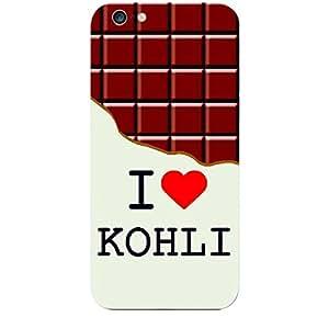 Skin4gadgets I love Kohli - Chocolate Pattern Phone Skin for APPLE IPHONE 6S