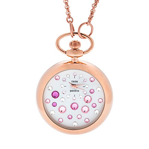 ladies-think-positiver-modell-se-w117r-star-dust-rose-cipollone-mit-stahlkette-farbe-rosa