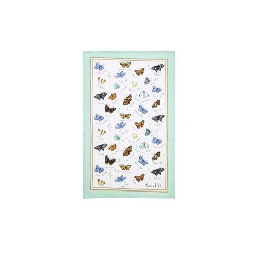 Ulster Weavers Madeleine Floyd Butterflies Linen Tea Towel