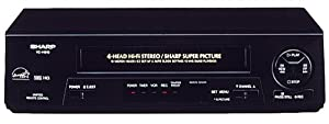 Sharp VCH810U 4-Head Hi-Fi VCR