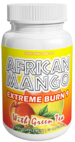 African mango extreme burn 9, appetite suppressant, diet pills, fat burner, highest quality 1 month supply
