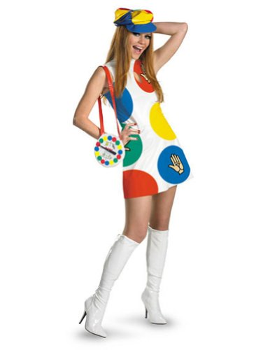 Twister Sassy Female 12-14 Adult Womens Costume
