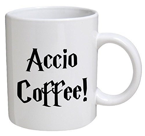 Funny Mug - Accio Coffee - 11 OZ Coffee Mugs - Funny Inspirational and sarcasm - By A Mug To Keep TM