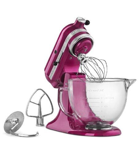 KitchenAid 5QT Artisan Standmixer-Raspber