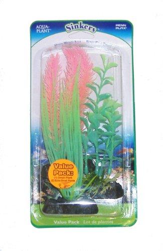 3 Pack Aquarium GlowPlant Decorations