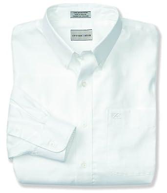 Cutter & Buck Mens Long Sleeve Nailshead Woven Shirt by Cutter & Buck
