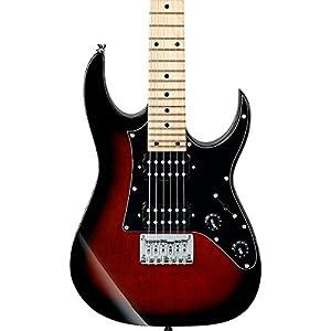 Ibanez GRGM21M GRG miKro Series Electric Guitar Walnut Sunburst