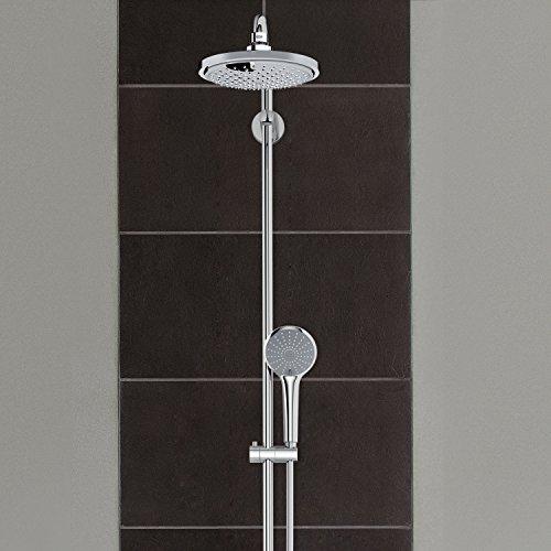 grohe colonne bain douche avec mitigeur thermostatique euphoria system 180 27475000 import. Black Bedroom Furniture Sets. Home Design Ideas