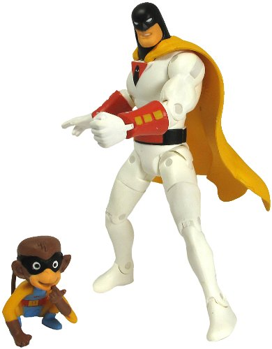 "Hanna Barbera Space Ghost & Blip 6"" Figure Set Jazwares"