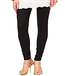 VAG Sales Women's Cotton Leggings (Pack of 2)