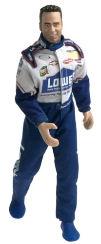 Buy Low Price Jakks Pacific NASCAR Jimmie Johnson 12″ Action Figure Doll (B0000A92LE)