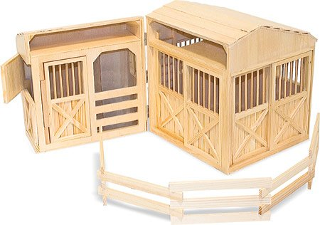 Melissa-Doug-Childrens-Folding-Horse-Stable