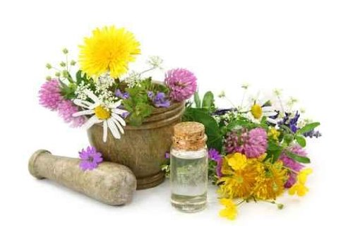 Mortar with Fresh Flowers and Essential Oil - 18