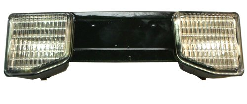 Light Bar used on Snapper, Simplicity, and John Deere snow blowers, 12V, 20 watt each bulb