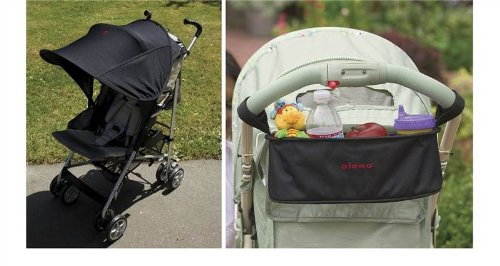 Diono Buggy Bundle - Buggy Buddy & Shade Maker Canopy 2 Items Supplied front-1023334