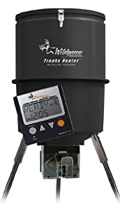 Buy Wildgame Innovations Gallon Digital Poly Barrel Feeder by Wild Game Innovations