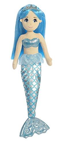 Aurora World Sapphire Sea Sparkles Mermaid Plush - 1