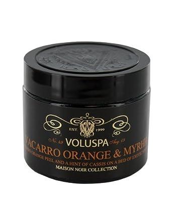 Voluspa Maison Noir Vacarro Orange Myrhh Votive Scented Candle In Cosmetic Jar from Voluspa