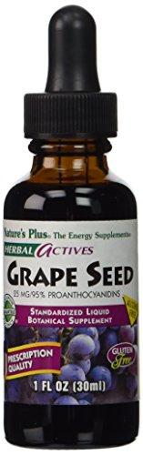 Nature's Plus - Grape Seed Liq Drops, 25 mg, 1 oz liquid (Pycnogenol Grape Seed compare prices)