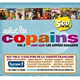 Salut Les Copains : 1969/1976 Les Années Magazine /Vol.3 (Coffret 5 CD)