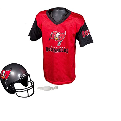Franklin Sports Nfl Tampa Bay Buccaneers Replica Youth Helmet And Jersey Set