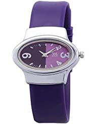 Watch Me Purple Rubber Analogue Watch For Women WMAL-111-PL