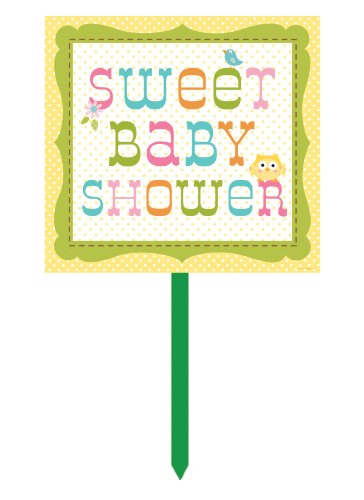 Creative Converting Happi Tree Sweet Baby Plastic Yard Sign