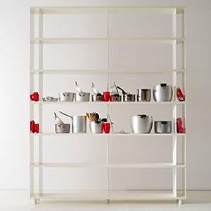Libreria Componibile SKAFFA Modulare a parete Design mensole scaffali ...