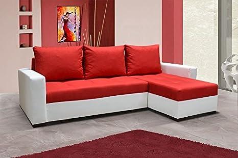 Sofá Newark6 sofá de esquina con función cama sofá cama