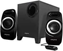 Creative Labs INSPIRE T3300 - Set de altavoces (Alámbrico, De 2 vías, 40 - 20000 Hz, 86 x 177 x 93 mm, 160 x 214 x 243 mm, PC)