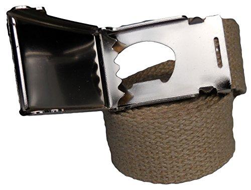 Hemp Web Belt, Bottle Opener Belt Buckle