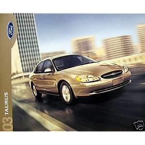 Amazon.com: 2003 Ford Taurus sedan/wagon sales brochure - MIDYEAR ...