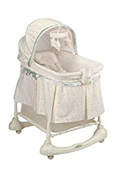 Traditional Bassinet & Incline Sleeper with Light Vibes Electronic Unit