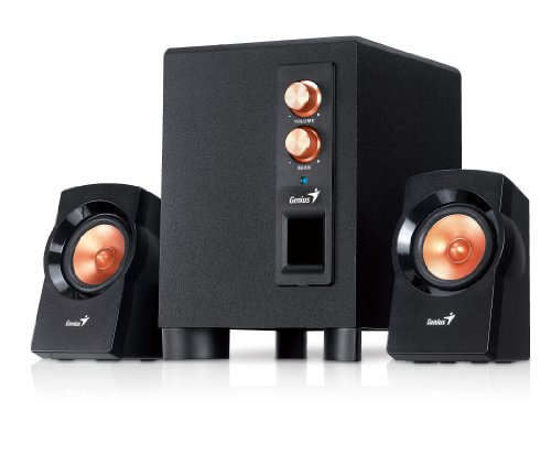 GENIUS Power 3-Piece PC Speaker System (SW-2.1 360)