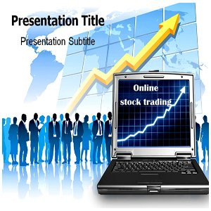 Online stock trading software