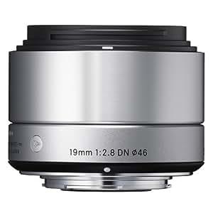 SIGMA 単焦点広角レンズ Art 19mm F2.8 DN シルバー マイクロフォーサーズ用 ミラーレスカメラ専用 929756
