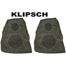 Klipsch AWR-650-SM All Weather 2-way Speakers - Pair (Granite)